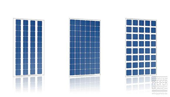 Durchsichtige Solarmodule